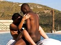 Afrikanischen Liebhaber einzigartige Sexualität