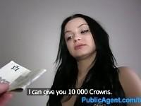 PublicAgent Martina ottiene la sua figa rasata scopata da sconosciuto