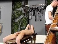Teenager film gay bondage sebbene Reece è dritto, lui è exp