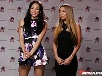 Nikki Benz & Tori Black a giudicare le ragazze competenze pompino DPStar stagione 3 Episodio 5