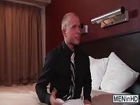 Giocoso Johnny Rapid spoglia e funziona Rob nervoso