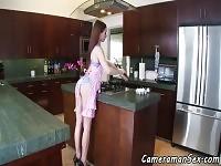 Roundass casalinga POV scopata in doggystyle