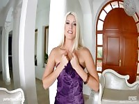 Hot Blanche Bradburry gets a load of creampie at All Internal