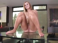 JESSIE ROGERS HOT SOLO AND DILDO RIDE