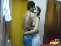 Indian amateur couple getting ready for a hardcore fuck session