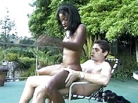 German babe will enjoy in interracial, hardcore sex