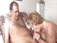 Granny gets her pussy licked and fingered