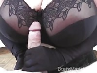 Maria Moore - Monster Tits Glove Handjob HD.