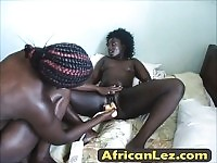 Horny african girls getting kinky