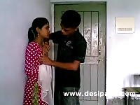 A young Indian Amateur with her boyfriend