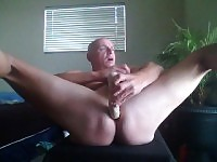 Sexy Spoken Reader Gooning On The Huge Dildo Piece