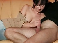 She Makes Him Cum Twice