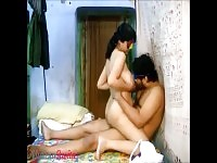 A masked busty Indian Amateur rides her man's cock