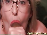 My MILF Exposed Busty amateur mature in stockings orgasm