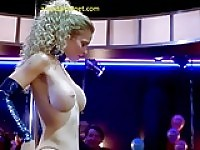 Kristin Bauer Striptease In Dancing At The Blue Iguana Movie