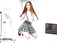 Naughty cute schoolgirl Virtual Reality