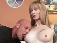 Older Tranny gets her asshole rammed by a Stud