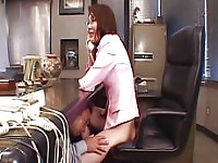Sweet chavette Maria Fujisawa moans as she gets her pussy banged