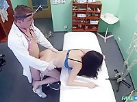 Vanessa in Sexually inexperienced patient wants doctors cock to be her first - FakeHospital