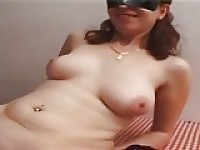 Virginie analfucked on the table