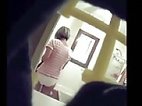 Milf bathroom spycam