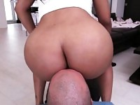 Hot Big Booty Ebony Maya