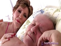 60plus Mature wife cheating.