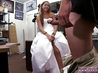 Milf fucks trainer first time A bride's.