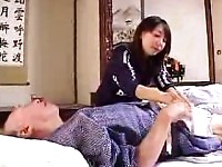 Insatiable Japanese housewife makes no attempt to resist a.