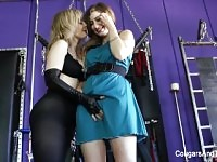 Kinky lesbian sex with Nina Hartley and Charli Piper.