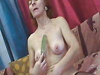 Horny mature bitch gets fucked hard from behind.