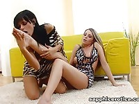 Angelica & Zara in Tonguing Temptations - SapphicErotica.