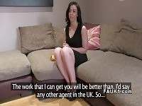 Bent over Milf got pussy banged in casting.