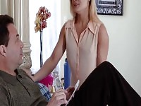 Liv Revampeds shaved pussy screwed by step dad.