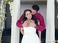 Brazzers - Cheating Bride Angela White Loves anal