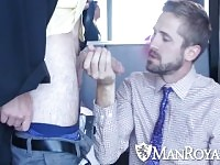 ManRoyale Hard working student Wesley Woods fucked for graduation
