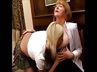 Horny schoolgirl for a mature woman.