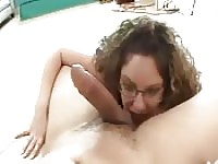 Ball sucking freak of a MILF.