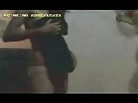 Sri Lankan girl caught undressing - hidden camera!.