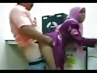 Arab amateur momma loves it.