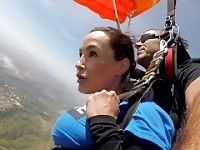 The News @ Sex - Skydiving With Lisa Ann! Pt 2.
