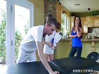 Massage sex video featuring Nikki Benz, Riley Reid and Danny D