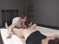 Fetching Japanese mom Mizuki Ogawa featuring blowjob video.