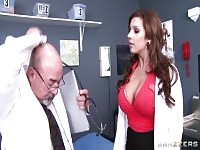 Doctor sex video featuring Xander Corvus and Lylith Lavey.