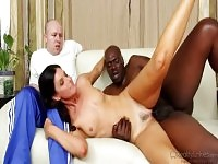 Pleasing India Summer featuring an amazing interracial porn video