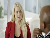 Teasing Anikka Albrite featuring an amazing interracial porn video.