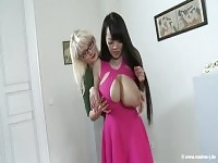 Fetching busty asian mature female Hitomi Tanaka having an interracial experience