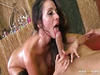 MILF sex video featuring Ariella Ferrera and Danny Mountain.