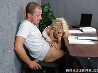 Quicky in the classroom - Brazzers.