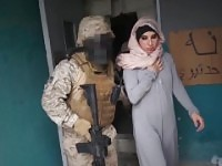 TOUR OF BOOTY - Arab Hooker Satisfies American Soldiers In A War Zone!.